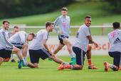 拜仁训练备战欧冠