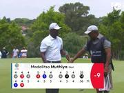 视频-决赛有望冲首冠 南非公开赛第三轮穆西亚集锦