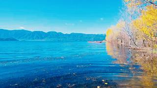 你说大海很美,而我却偏爱泸沽湖的深蓝。