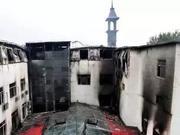 哈尔滨火灾酒店内部像迷宫 多次消防检查不合格