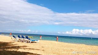 加勒比海岸的阳光和风~
