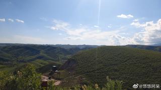 登福寿山 一览无余的壮阔