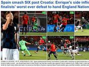 西班牙凭啥能灌克罗地亚6球?