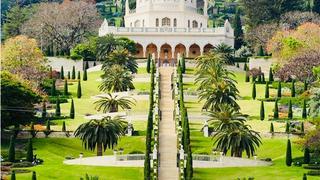 以色列 巴哈伊空中花园