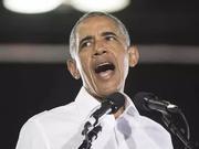 """奥巴马为中期选举""""出山"""" 拐弯抹角讽刺川普?"""