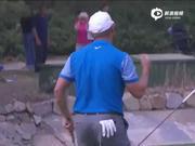 视频-这难道是冠军推?史密斯18洞抓收工鸟单独领先