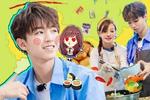 《中餐厅2》王俊凯秒变表情包 粉丝在美拍上发同款表情为爱豆应援图片