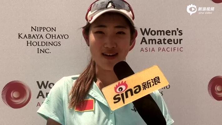 刘文博亚太赛第二轮采访 中国旗手找回手感