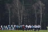 AC米兰训练备战