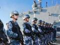 中国海军第二十七批护航编队技术停靠南非开普敦