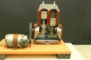 发动机活塞是如何工作的,这个模型让你看个清楚