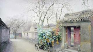 画家笔下的老北京的模样