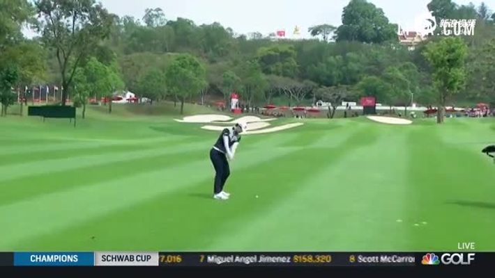 泰国LPGA赛朴城炫集锦 世界第二首轮67杆