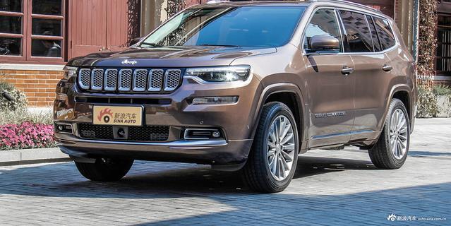 实拍|Jeep全新大指挥官 竞品对准汉兰达