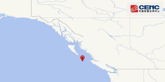 加拿大溫哥華附近海域發生6.2級地震
