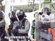 速龙小队喊话挑衅暴徒:我们3万警察撑起整个香港