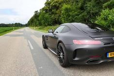 保时捷911 (991.2) GT3 vs 奔驰AMG GT C直线加速