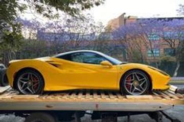 汽车美图大赏:Ferrari,这颜色太好看了吧