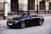 当车门打开的时候,您已经赢了 Rolls Royce Wraith