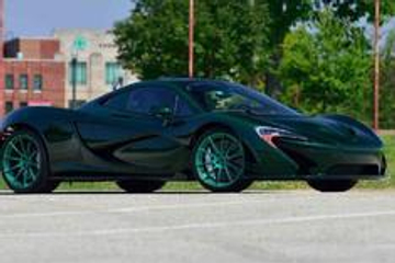 高清汽车美图:罕见绿色迈凯伦P1 MSO
