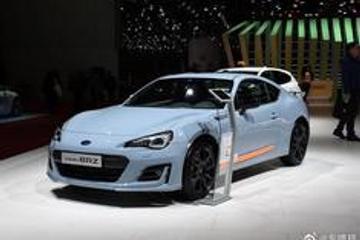 斯巴鲁BRZ特别版实车亮相,专属灰蓝涂装,这颜值很有跑车味道
