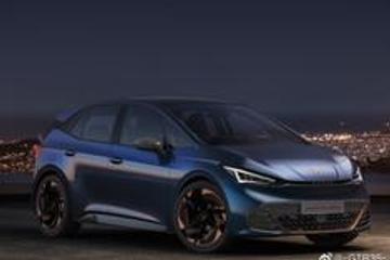 西雅特旗下子品牌Cupra正式发布了EL-BORN准量产版车型的官图