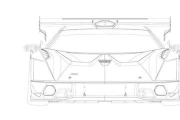 兰博基尼SCV12专利图 兰博基尼最强V12跑车或夏末发布