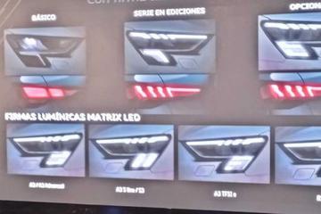 头灯内藏方格旗 奥迪全新RS3细节曝光