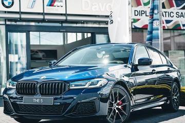 宝马新款5系实拍曝光 9月国产开售/比奥迪A6L大