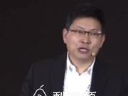 余承东谈TikTok:绝大多数中国互联网公司都躺在中国安乐窝里