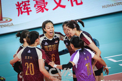 全锦赛:天津女排3-1山东夺冠 队史第六冠创历史