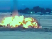 瞬间爆炸!亚美尼亚公布击落阿塞拜疆军机现场画面