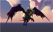 仅有一种颜色!魔兽7.2恶魔猎手尖啸者坐骑预览
