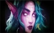 魔兽大神赏析:月之女祭司泰兰德的绘画过程视频