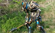 魔兽玩家COSPLAY推荐:搞怪的巨铲T19套死亡骑士