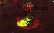 魔兽单刷女帝7.2视频 恶魔猎手对决普通艾乐瑞瑟