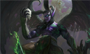 魔兽玩家原创同人画作分享:感受这一万年的愤怒