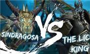 魔兽世界坐骑的反叛:辛达苟萨VS巫妖王谁将获胜