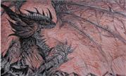 魔兽美女玩家用口红绘制的死亡之翼 吾即大灾变