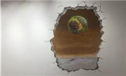 魔兽画作:在墙上穿凿一缕希望 遥望故乡阿古斯