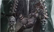 画作:寒冰王座上的黑暗女王 性感的希尔瓦娜斯