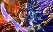 魔兽玩家画师作品分享:双界行者奥蕾莉亚风行者
