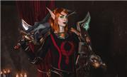 魔兽Cos:为了辛多雷的荣耀 血骑士领袖莉亚德琳