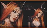 魔兽人体彩绘视频:喜欢人体彩绘的小姐姐Djarii
