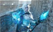 魔兽玩家Narga妹子新COS作品 吉安娜回到塞拉摩