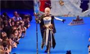这个气势很足 魔兽玩家Narga妹子演绎8.0宣传片