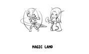 """魔兽玩家同人漫画 """"考古""""多格涂鸦《AFK》前篇"""