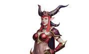 魔兽同人:红龙女王阿莱克斯塔萨 人形态全身像