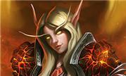 魔兽玩家原创同人画 火源里血精灵圣骑士大领主