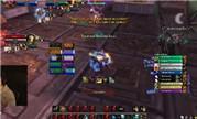 魔兽8.1火法Xaryu 评级战场视频 寇魔古寺2900+